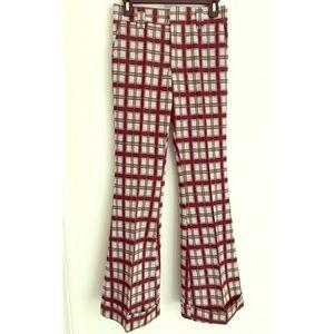 Vintage women's Levi's plaid slacks